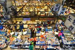 La pêche de Noryangjin vend le marché en gros image libre de droits