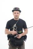 La pêche est toujours plaisir Photographie stock libre de droits