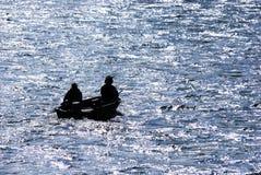 Pêche d'Umpqua Images libres de droits