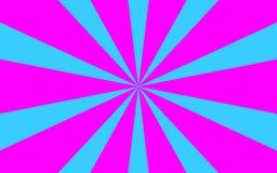 La púrpura azul irradia imagen de fondo Foto de archivo libre de regalías