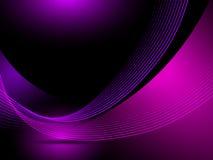 Líneas púrpuras abstractas del fondo ilustración del vector