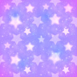La púrpura empañó el modelo inconsútil del vector de las estrellas Imagen de archivo