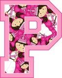 La P è per principessa Fotografie Stock