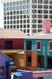 La Pacita Dorf in Tucson Arizona lizenzfreies stockbild