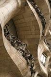 La padrera (antonio gaudi). Modernist house by antonio gaudi - la padrera. detail Stock Photos