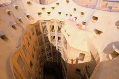 La Padrera by Gaudi Stock Photography