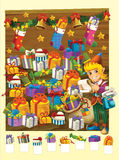 La page de coloration avec le modèle - illustration pour les enfants Photos libres de droits