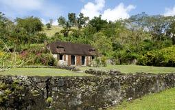 La Pagerie museum in Les Trois Ilets in Martinique Stock Image