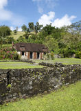 La Pagerie museum in Les Trois Ilets in Martinique Royalty Free Stock Photos