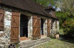 La Pagerie museum in Les Trois Ilets in Martinique Stock Photos