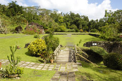 La Pagerie museum in Les Trois Ilets in Martinique Royalty Free Stock Images