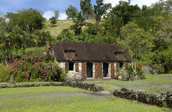 La Pagerie museum in Les Trois Ilets in Martinique Royalty Free Stock Image