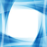 Struttura blu profonda dell'onda Fotografie Stock Libere da Diritti