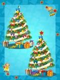 La pagina di coloritura con il modello - illustrazione per i bambini Fotografie Stock