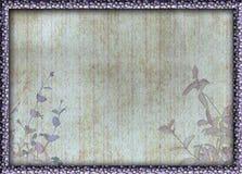 La pagina intorno ad un lerciume ha decorato il fondo immagini stock