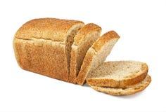 La pagnotta del taglio di pane Fotografie Stock