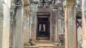 La pagoda à l'intérieur de Preah Khan photo stock