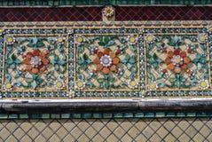 La pagoda è in Wat Pho Bangkok Thailand fotografie stock