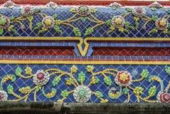 La pagoda è in Wat Pho Bangkok Thailand fotografia stock libera da diritti