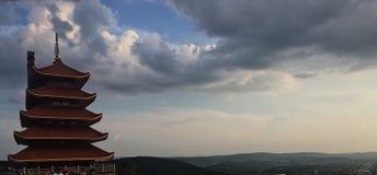 La pagoda fotos de archivo libres de regalías