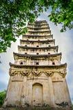 La pagoda blanca del país de Rongxian Fotos de archivo libres de regalías