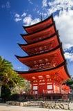 La pagoda buddhistic di vecchia cinque-storia Fotografia Stock