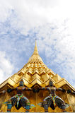 La pagoda d'or Image stock
