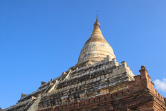 La pagoda de Dhammayazika, situada al este de Bagan Foto de archivo libre de regalías