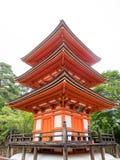 La pagoda de Kiyomizu-dera Fotos de archivo libres de regalías