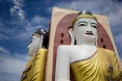 La pagoda de Kyaikpun en Myanmar Imagenes de archivo