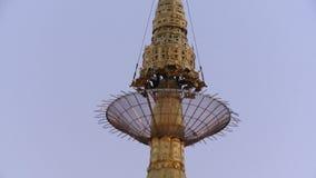 La pagoda de Kyaiktiyo du fond à compléter banque de vidéos