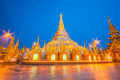 La pagoda de Shwedagon à Yangon, Myanmar image libre de droits