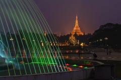 La pagoda de Shwedagon Images stock
