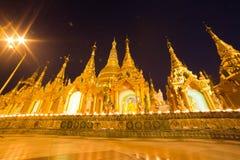 La pagoda de Shwedagon, Rangún, Myanmar Foto de archivo libre de regalías