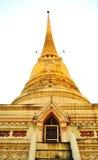 La pagoda de Tailandia brilla Foto de archivo