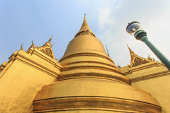 La pagoda de Wat Phra Kaew Image libre de droits