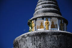 La pagoda de WatChaThingPhra Photographie stock