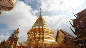 La pagoda del oro Fotos de archivo