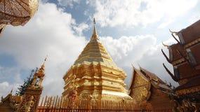 La pagoda dell'oro Fotografie Stock