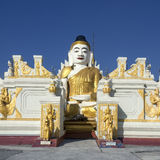 Nyaungshwe - Myanmar Fotografia Stock Libera da Diritti