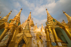 La pagoda di Shwedagon, Rangoon, Myanmar, Immagine Stock
