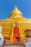 La pagoda di Shwezigon Fotografia Stock Libera da Diritti
