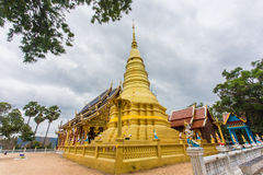 La pagoda di Wat Ban Pang Fotografie Stock Libere da Diritti