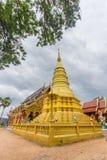 La pagoda di Wat Ban Pang Fotografia Stock