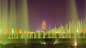 Pagoda salvaje del ganso de Xi'an en China Foto de archivo