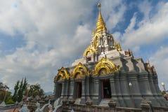 La pagoda grande en Doi Mae Salong, Chiang Rai, Tailandia fotografía de archivo libre de regalías