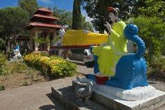 La pagoda hong hien des Frances de frejus du TU image libre de droits
