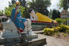 La pagoda hong hien des Frances de frejus du TU image stock