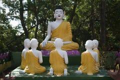 La pagoda hong hien la estatua de Francia del frejus del tu Fotos de archivo