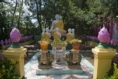 La pagoda hong hien la statue de Frances de frejus du TU photo stock